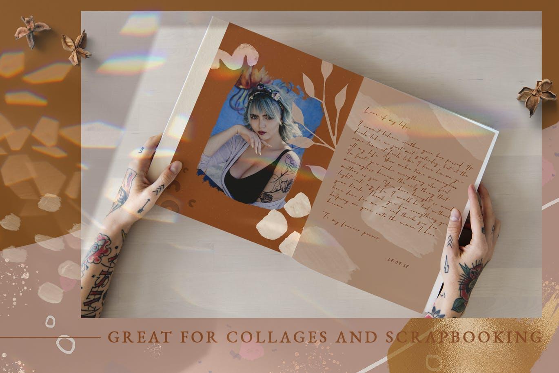 抽象实用的 Procreate&Photoshop 画笔笔刷合集PS笔刷下载designshidai_bishua0100