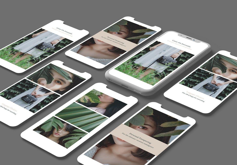 高端智能Phone X -平面展示样机designshidai_yj779