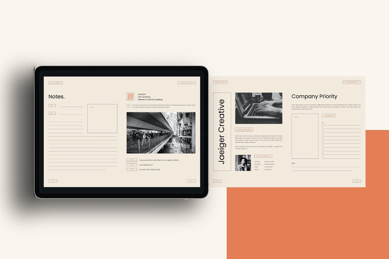 多用途的计划表工作流程表格设计模板designshidai_zazhi059