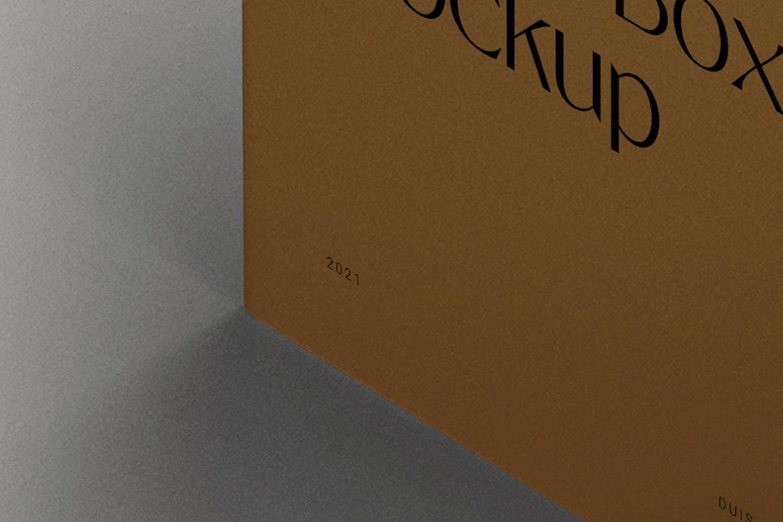 时尚高端逼真质感的化妆品包装盒设计VI样机展示模型designshidai_yj854