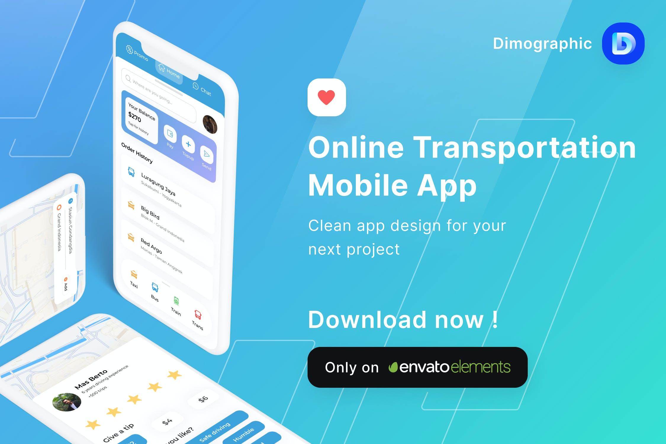 在线交通旅行相关APP UI designshidai_ui328