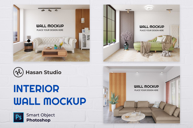 高质量室内客厅墙设计模型designshidai_yj836