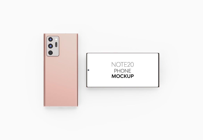 高端智能Note20 安卓手机样机designshidai_yj845