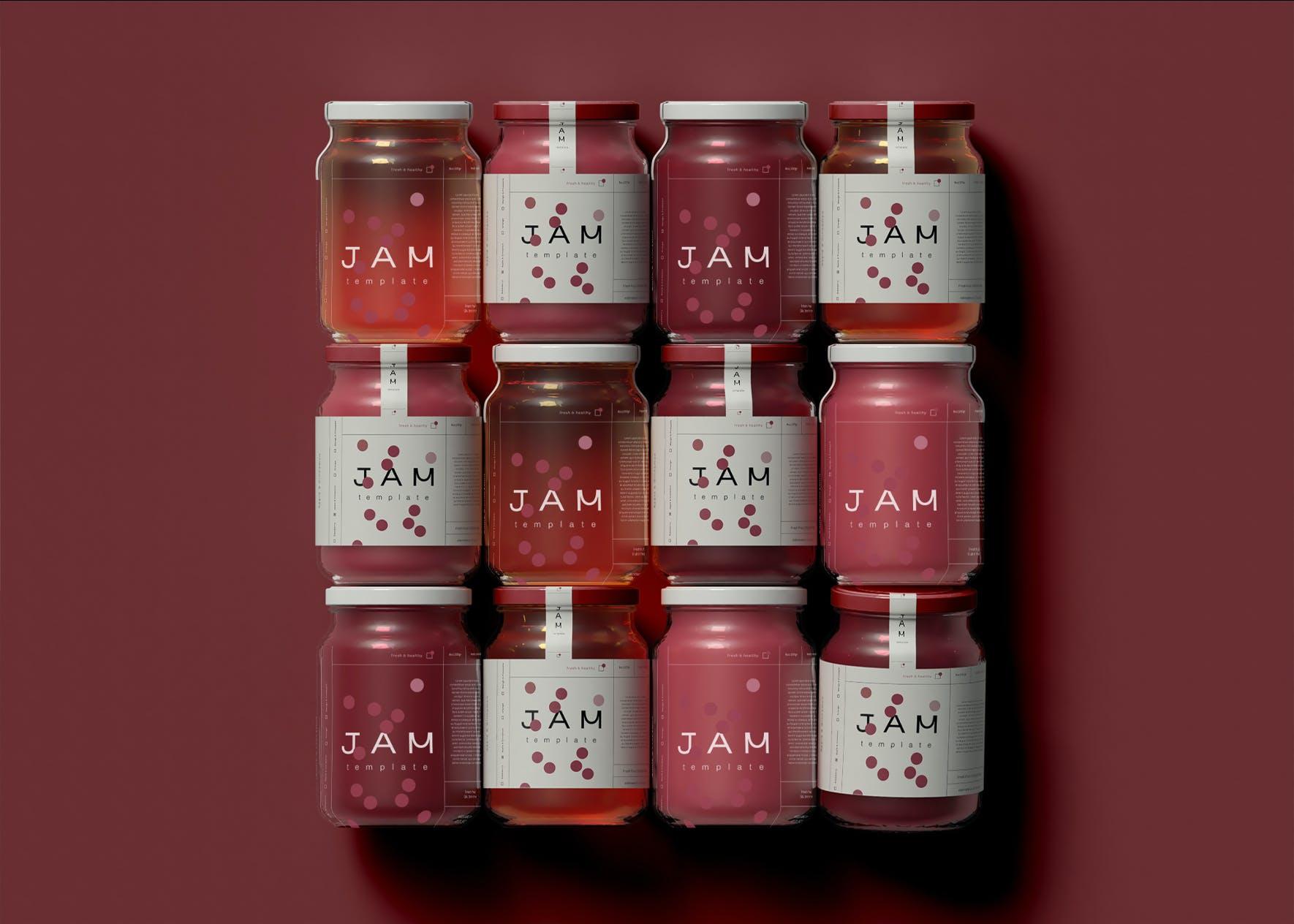 高端酱料瓶子展示样机designshidai_yj868