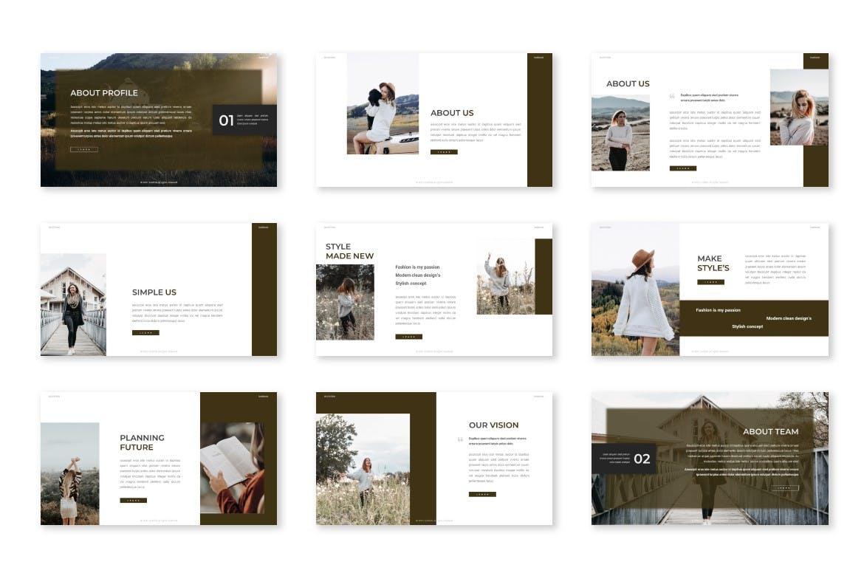专业智能个人项目介绍PPT模板designshidai_ppt0184