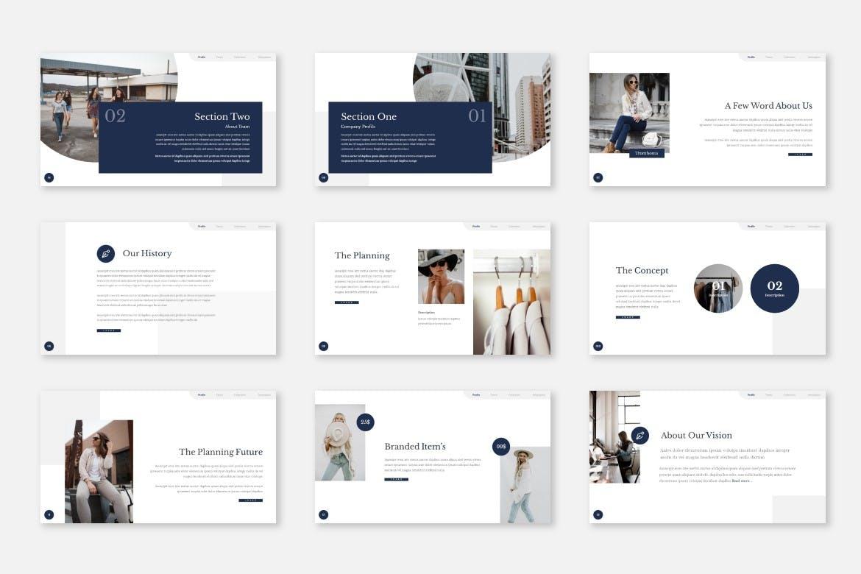 高端专业展示个人和企业项目的PPT模板designshidai_ppt0185