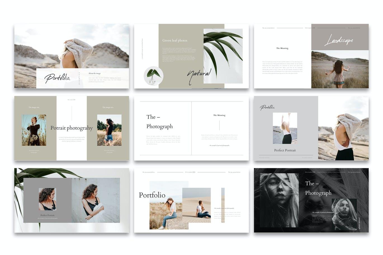 个性创造性的极简主义设计PPT模板designshidai_ppt0198