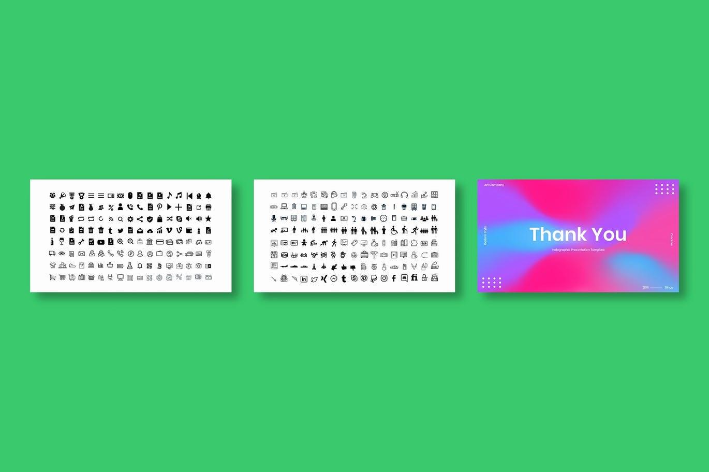 时尚清新高端优雅简约多用途的商业商务powerpoint幻灯片演示模板designshidai_ppt0201