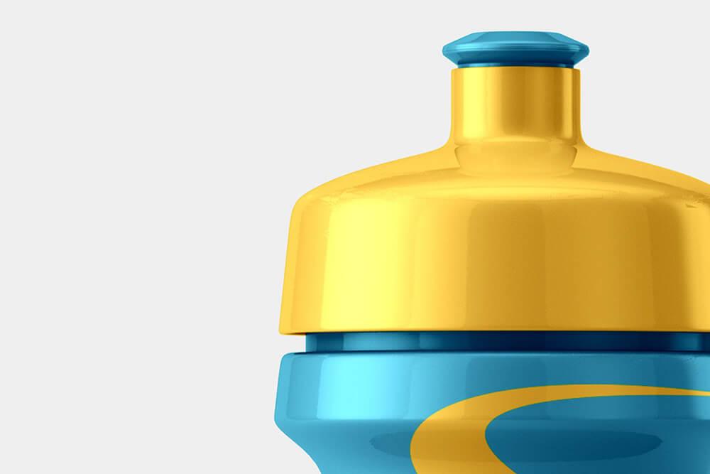 好看自行车饮水瓶外观包装设计样机模板designshidai_yj834