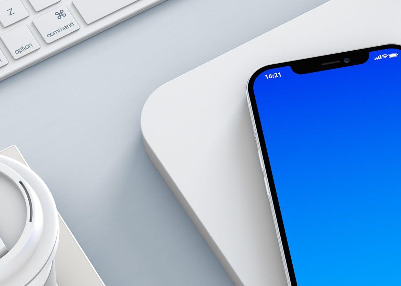 高端智能iPhone 12 Pro手机模型designshidai_yj850