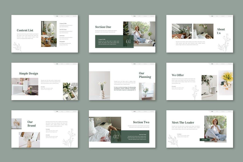 Deron – 专业高端优雅项目展示Powerpoint 模板designshidai_ppt0172
