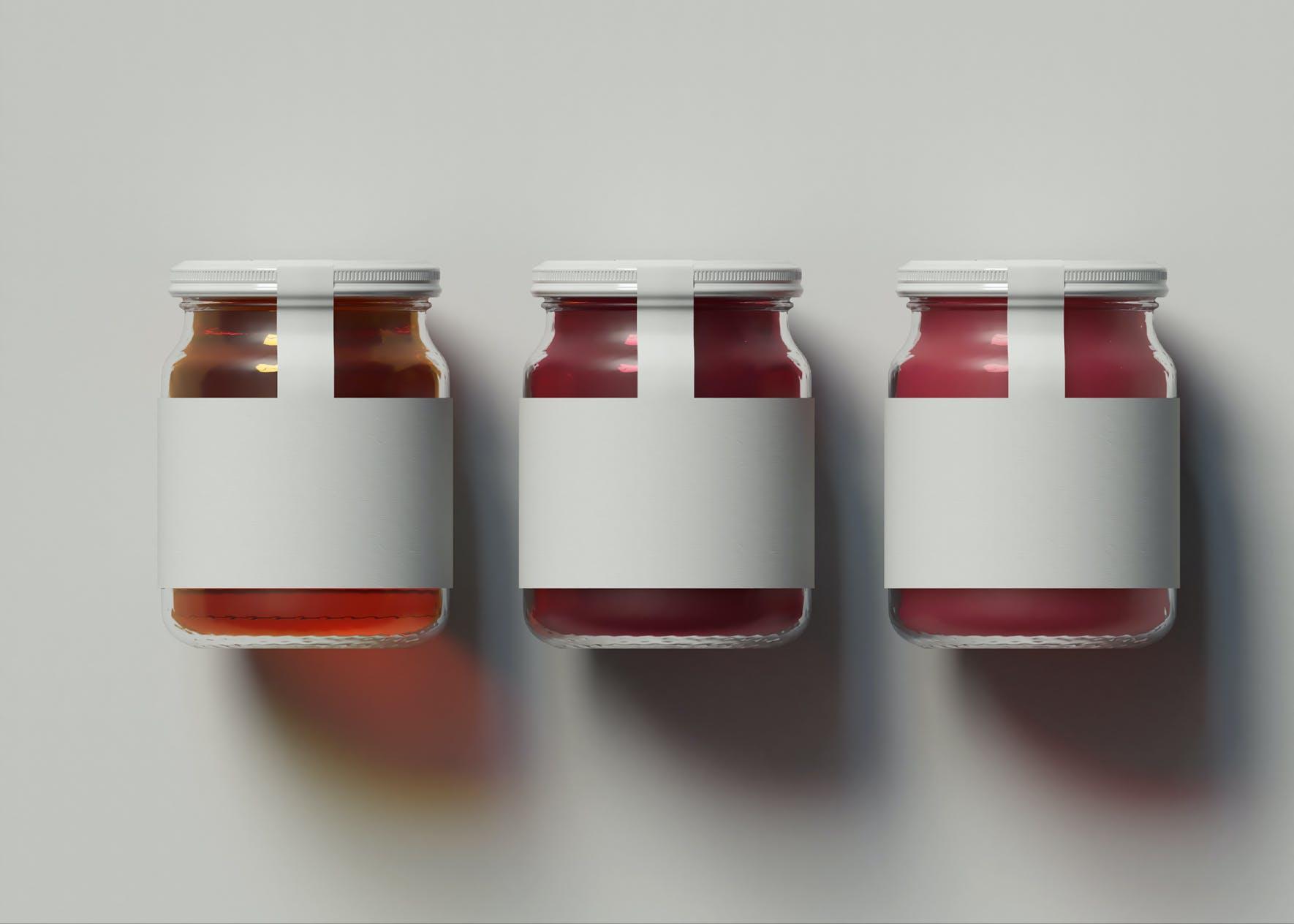 高端奢华实用的酱料产品样机designshidai_yj827