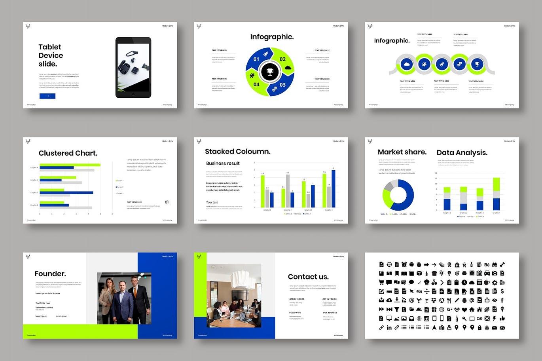 高品质的专业时尚高端商业商务powerpoint幻灯片演示模板designshidai_ppt0204