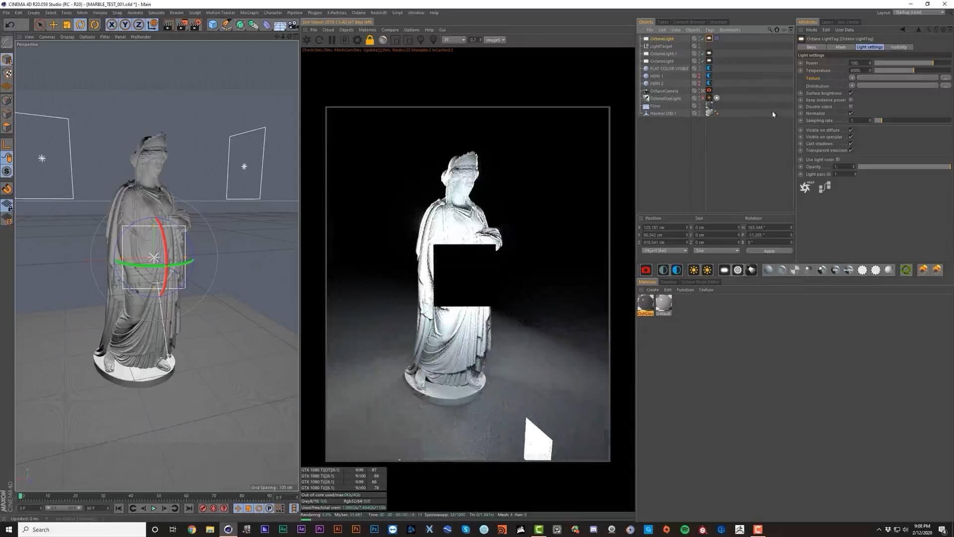GSG C4D Octane渲染器入门教程designshidai_C4D11
