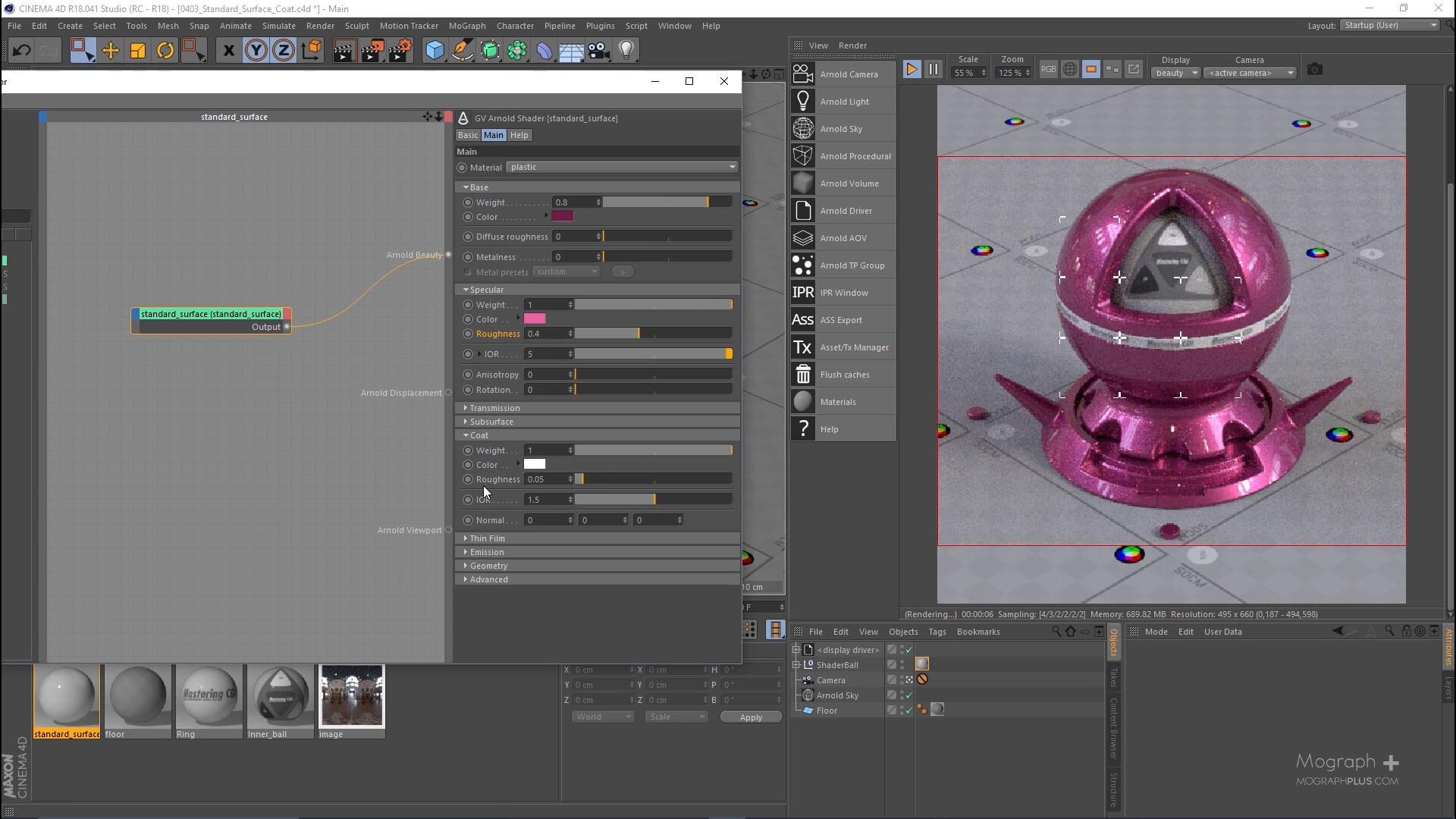 GSG C4D Arnold全面教程 designshidai_C4D17